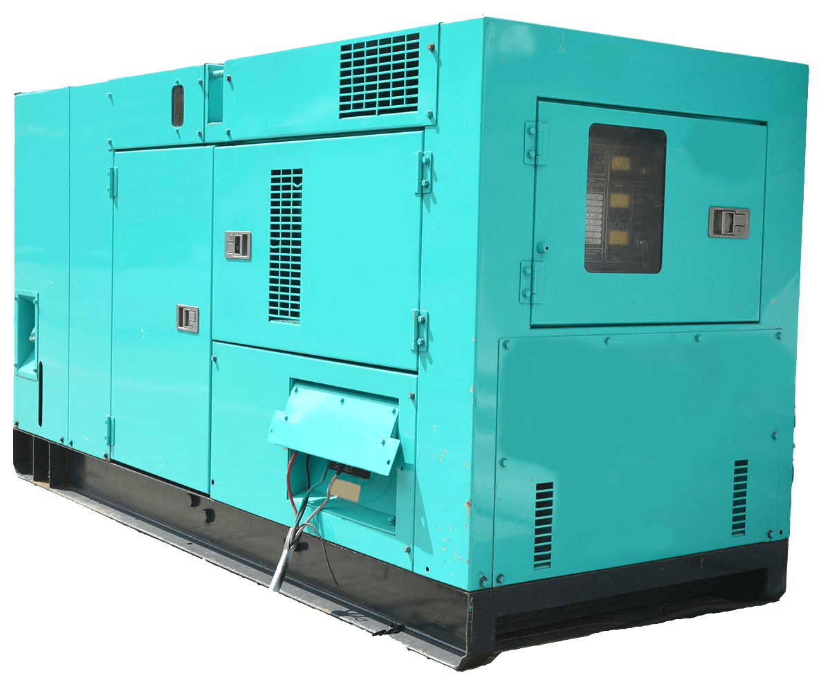 Portable Generator for Construction Site